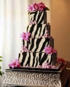 zebra pattern cake ideas cakechannel com world of cakes square four tier black