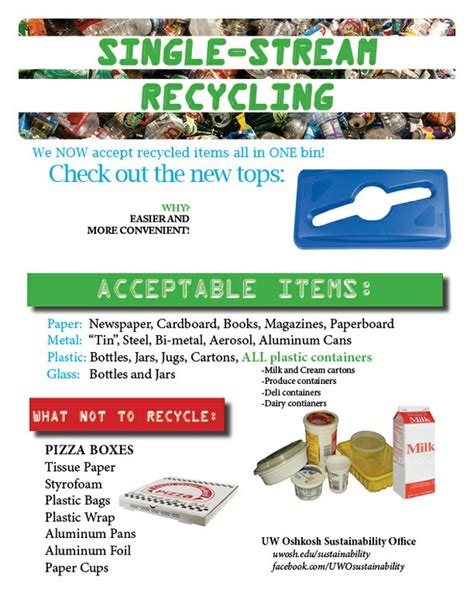about program waste management single stream recycling waste reduction recycling cus sustainability office