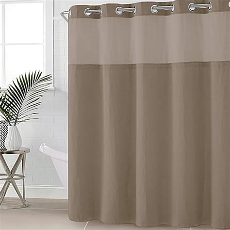 86 shower curtain buy hookless 174 waffle fabric 71 inch x 86 inch shower