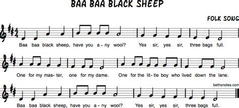 Baa Baa Black Sheep Melody Sound Board Book baa baa black sheep beth s notes