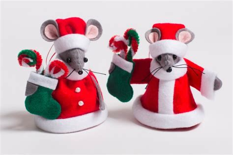 Stocking Tree Stand by Mr And Mrs Santa Mouse Christmas Tree Decorations