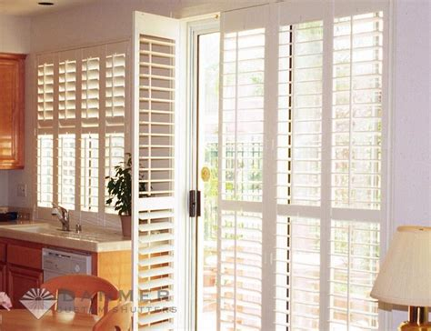 Plantation Shutters On Sliding Patio Doors Amazing Plantation Shutters For Sliding Glass Doors Home Ideas Collection