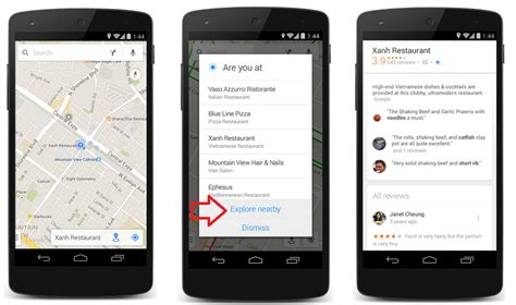 Android Nearby Ios by Update To Maps For Ios And Android Includes New