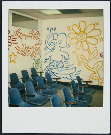 Children S Healthcare Of Atlanta Emergency Room by Keith Haring Fragment In Atlanta After Two
