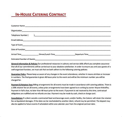 contract form agreement images example ideas free able sales clerk