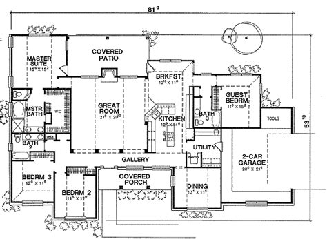 guest suite house plans mother in law or guest suite 3037d architectural designs house plans
