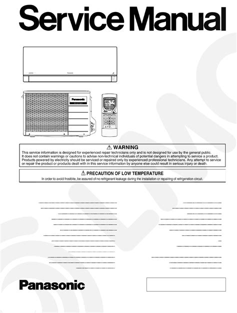 Panasonic Inverter Air Conditioner Wiring Diagram - Wiring