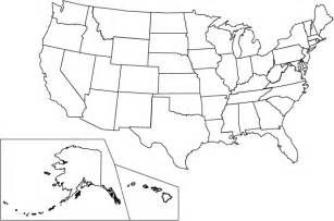map of united states for to color
