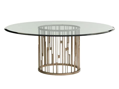 Bassett Dining Room Furniture excellent round glass top dining tables with wood base 42