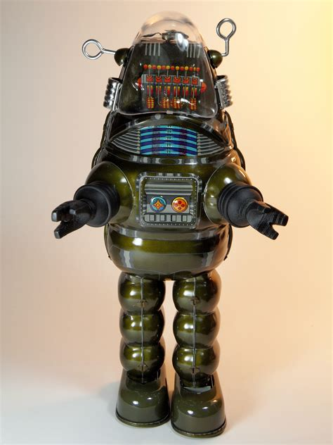 billiken robby the robot file billiken shokai tin wind up robby the robot with