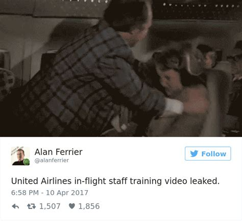 10 funniest reactions to united airlines violent action