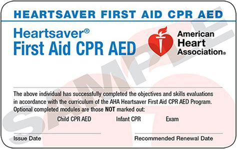 Heartsaver Aid Cpr Aed Card Template by Document Request 911 Education