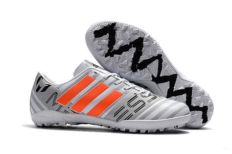 Adidas Nemeziz 173 Tf Black new adidas nemeziz 17 3 tf football boots white orange black
