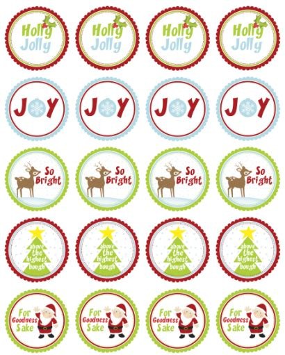 printable xmas stickers christmas labels for free by ink tree press worldlabel blog
