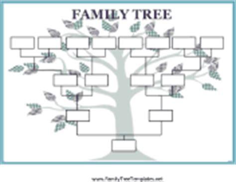 printable family tree grid family tree templates