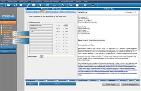 Anschreiben Erstellen Bewerbungsmaster Programm F 252 R Die Optimale Bewerbung