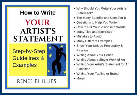 how to write art e book shop for artists