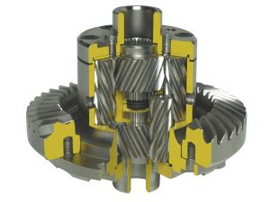 volvo  quaife atb helical lsd differential