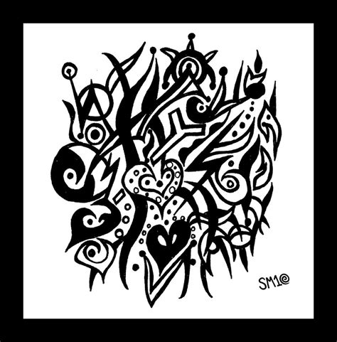 doodle tribal tribal doodle by lookn 4 beautiful on deviantart