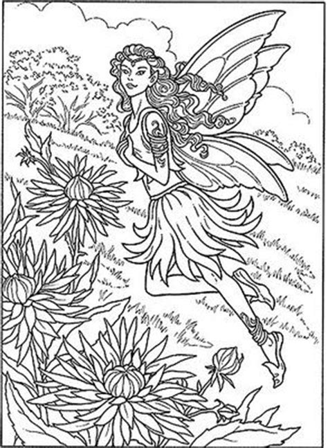 detailed fairy coloring pages for adults 1000 images about fairies on pinterest fairy art
