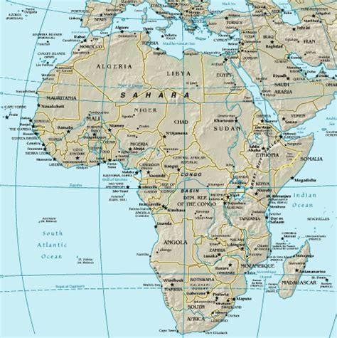 africa map major cities africa map quiz major cities
