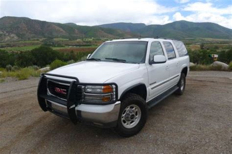 find used 2005 gmc yukon xl 2500 slt sport utility 4 door 6 0l in rye new york united states buy used 2005 gmc yukon xl 2500 slt 4x4 v8 6 0l in aspen colorado united states