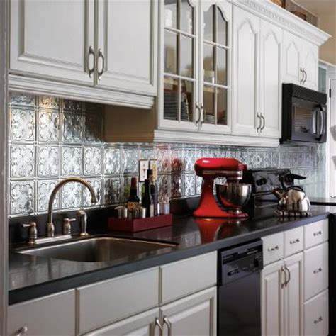 tin backsplash ideas from armstrong