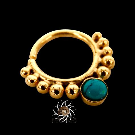 gold septum ring 16g septum ring indian septum ring