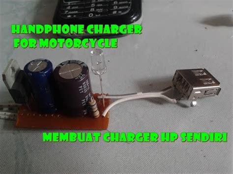 Cas Handphone Pake Aki Motor tanpa listrik bisa charger hp doovi