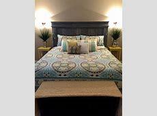 Ana White | King Size Fancy Farmhouse Bed - DIY Projects Fancy Office