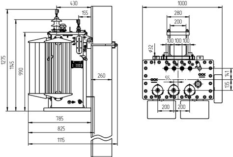 diagram of pole transformers wiring diagram with description