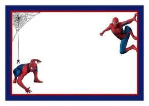 spiderman free printable invitation template invitations