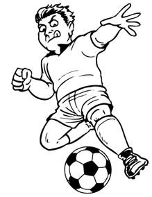 Free Printable Soccer Coloring Pages For Kids Soccer Color Pages