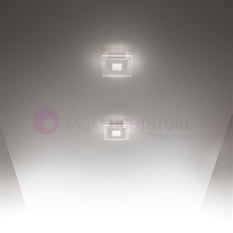 soffitto moderno luce led parete soffitto design moderno vetro space antea