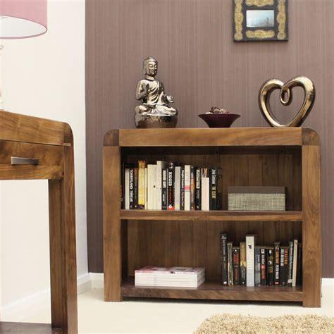 Low Walnut Bookcase Shiro Walnut Low Bookcase