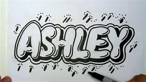 coloring pages of the name ashley how to draw ashley in graffiti letters write ashley in