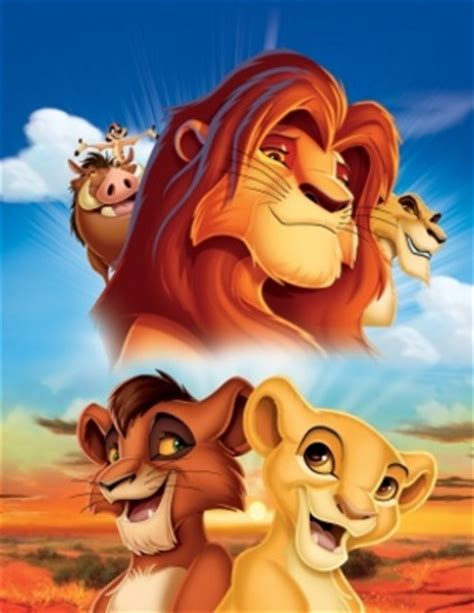 film the lion king 2 the lion king ii simba s pride movie poster 721988