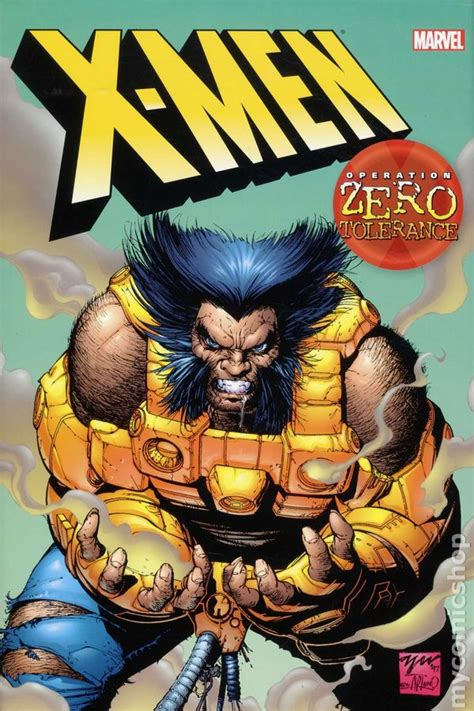 libro x men operation zero tolerance comic books in x men zero tolerance