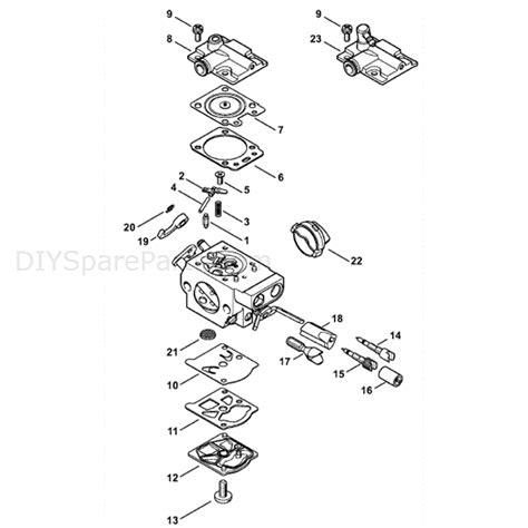 stihl chainsaw carburetor diagram stihl ms 251 chainsaw ms251 z parts diagram carburetor