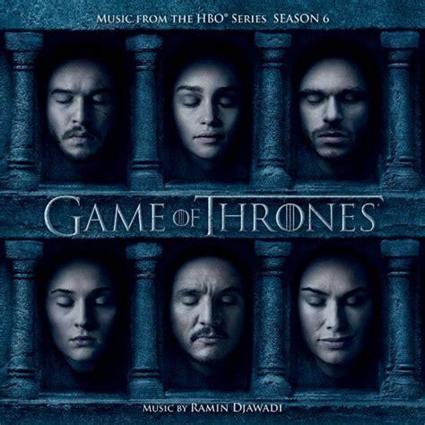 game of thrones season 6 wikipedia the free encyclopedia file game of thrones season 6 soundtrack cover jpg