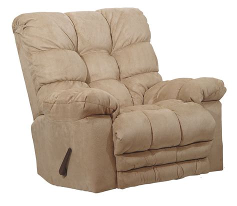 catnapper massage recliner catnapper magnum chaise rocker recliner with heat and