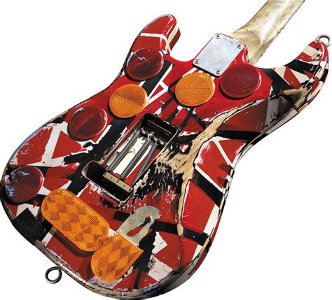 eddie van halen scale evh frankenstein replica guitar eddie van halen