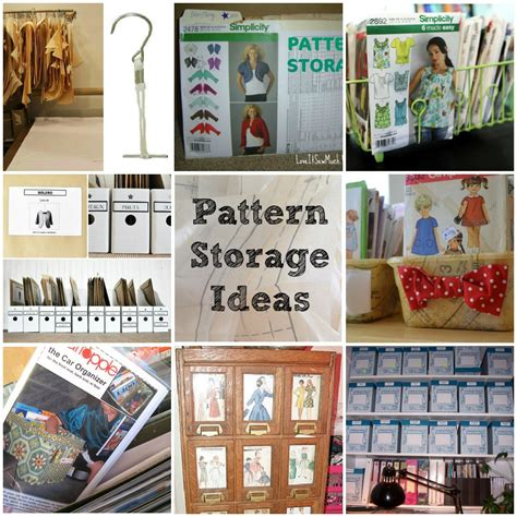 sewing pattern organization ideas pattern storage ideas and tips round up of pattern