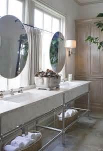 Makeup Vanity In Front Of Window Bathroom Detail Interior Walls Designs