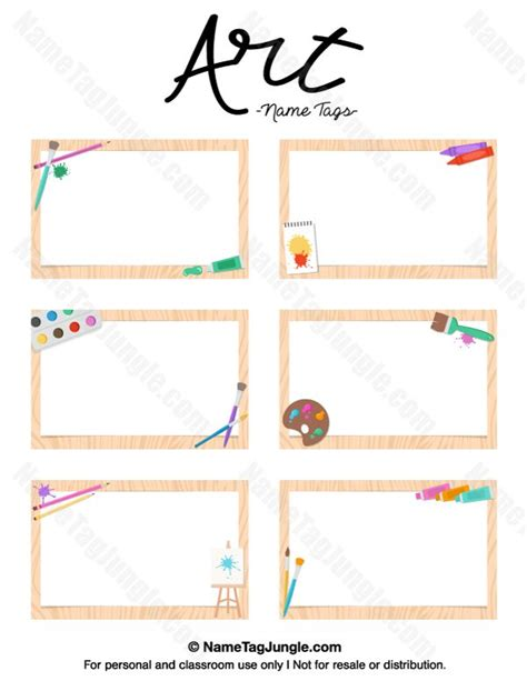 Sticker Nama Cutout Cutting Sticker Set6 free printable name tags the template can also be used for creating items like labels and