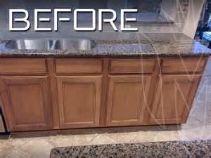 Medium Brown Kitchen Cabinets Cabinet Refinishing Magnifico Cabinet Refinishing