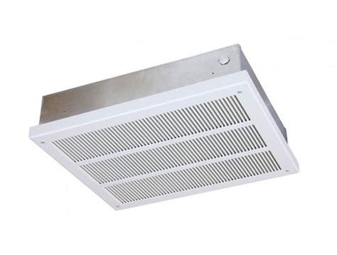 qmark electric fan forced ceiling mounted heater eff4008