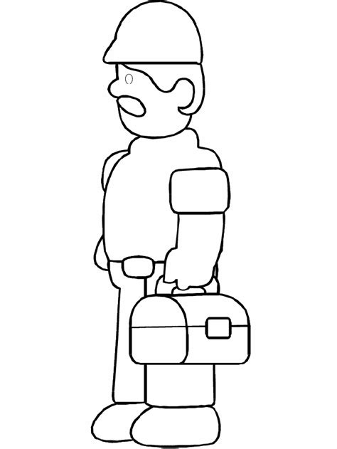 Construction Tools Coloring Pages Coloringpagesabc Com Tools Colouring Pages