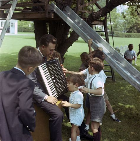 f kennedy jr children st c203 4 63 f kennedy jr attends children s picnic at the white house f