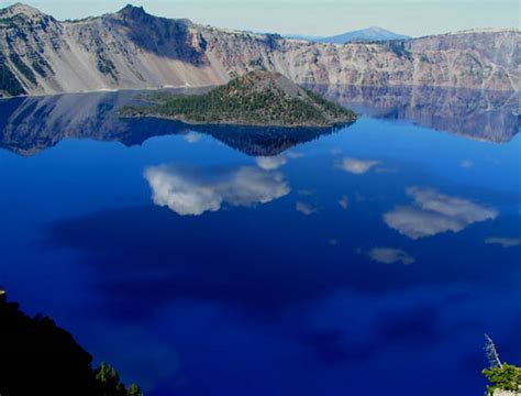 clearest water in the us crater lake the deepest lake in the united states